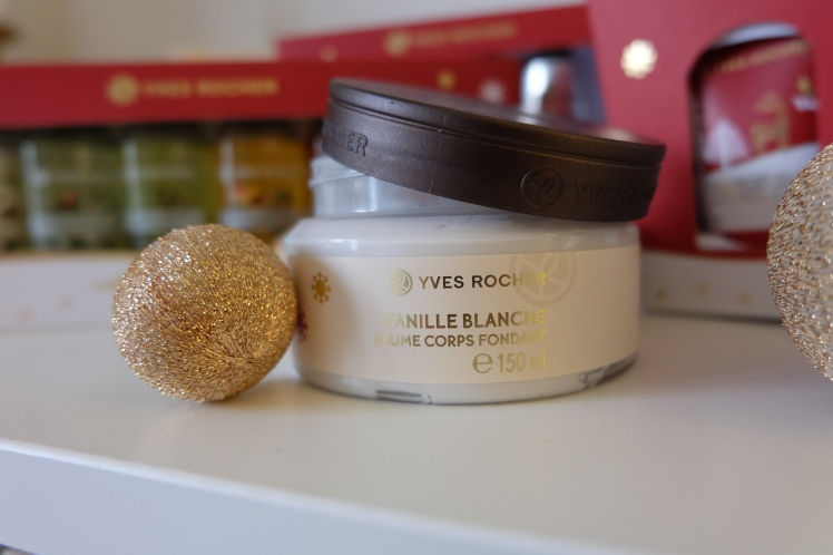 Baume corps fondant Vanille Blanche Yves Rocher : 9,95€